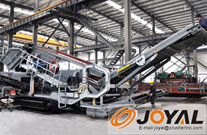 Crawler Mobile Crushing Plant