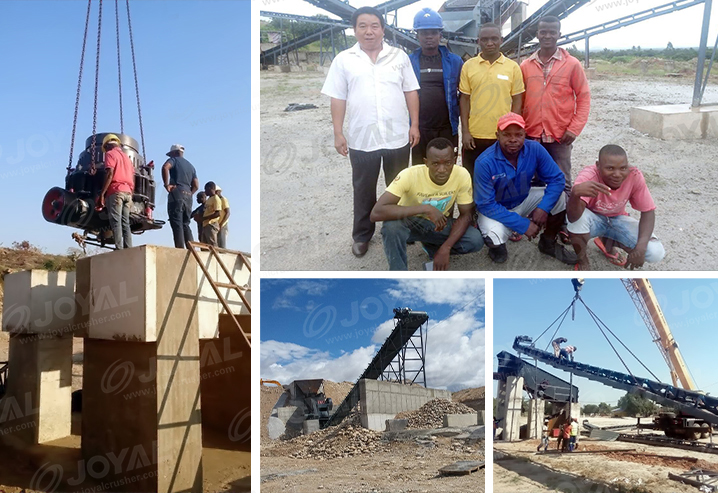 100-150TPH Granite Crushing Plant In Mozambique